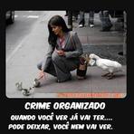 Humor - crime organizado