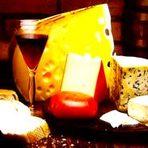 Culinária - Mesa de queijos para comemorações
