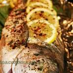 Culinária - Receita de Peixe Assado na Brasa - BLOGDACOZINHA.com.br