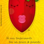 Humor - Tem um pouco de pimenta