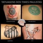Humor - De quem será esta tatuagem?
