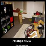 Humor - MindFuck #8 Criança Ninja