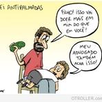 Humor - Nova lei anti palmas….