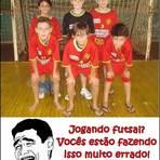 Humor - Jogando futsal?