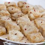 Culinária - Bacalhau Gratinado Com Migas