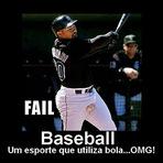 Memes - Baseball é jogo pra Macho!