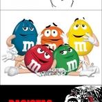 Humor - Onde está o m&m preto?