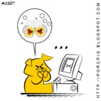 Humor - Porcpig: #0327 - E se...
