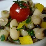 Culinária - Salada de Feijão Fradinho