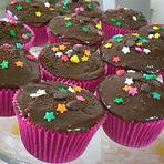 Culinária - Cupcake de chocolate