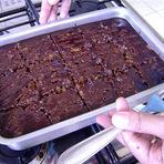 Culinária - Bolo de cenoura com chocolate
