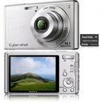 Ofertas - Câmera Digital Cyber Shot DSC-W530 (14.1MP) Prata c/ 4x Zoom Óptico