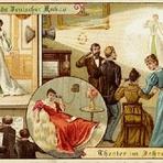 Pintura - O ano 2000 conforme futurólogos  em 1900 (Postais)