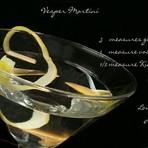 Culinária - Aprenda a preparar o legitimo Vesper Martini, drink do 007