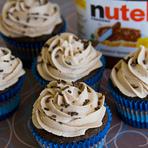 Culinária - Aprenda a fazer: Cupcake Gelado de Nutella