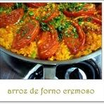 Culinária - ARROZ DE FORNO CREMOSO