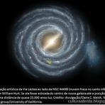 Espaço - Galáxia anã jamais vista é descoberta no Grupo Local da Via Láctea