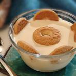 Culinária - Mousse de caramelo com coco
