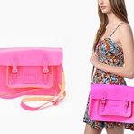 Bolsas Coloridas, super tendência em 2012.