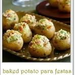 Culinária - BAKET POTATO PARA FESTAS