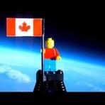 Espaço - Um boneco Lego no espaço...