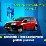 Promoções - Promoção: Responda a pergunta e leve um Uno Vivace Zero Km + 5 mil reais