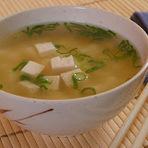Culinária - Missoshiro (sopa japonesa)