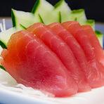 Culinária - Sashimi de atum