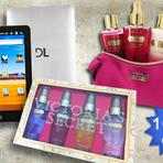 Promoções - Você escolhe: Quer ganhar 1 Tablet ou 1 Kit Victoria's Secret?