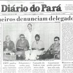 Política - Senador tucano Mário Couto entre os principais chefões do Jogo do Bicho na Belém da década de 80