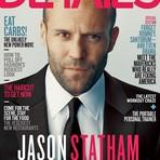 GLS - Ator gay Jason Statham na capa da revista americana Details
