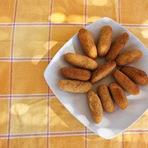 Culinária - Croquete de carne