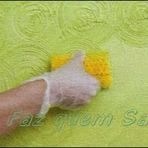 Pintura - Faça você mesmo uma textura em sua parede.