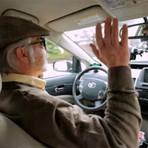 Já imaginou um motorista cego guiando um carro?