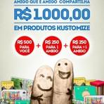 Promoções - Kustomize lança novo site e premia fãs com R$1mil em produtos
