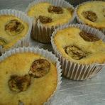 Culinária - Cupcake de banana com canela