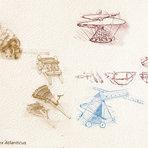 Música - Quais instrumentos de guerra foram projetados por Da Vinci?