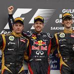 Fórmula 1 - Em resposta ao desempenho dos Mercedes na China, motores Renault dominam o pódio no Bahrein.