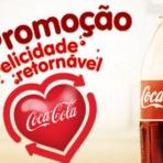 Promoções - PROMOÇÃO COCA COLA FELICIDADE RETORNÁVEL