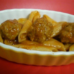 Culinária - Macarrão com almondegas