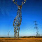 Design - Extraordinárias torres de alta tensão em forma de veado