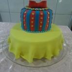 Culinária - bolo de Aniversário de 15 Anos