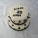 Culinária - Aniversário de 25 anos – Estilo musical.