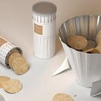 Design - Embalagem para compartilhar batatinhas