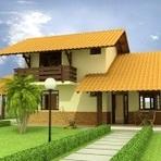 Arquitetura e decoração - Modelos de plantas de casas de 2 pisos