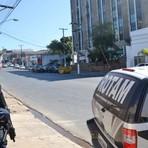 Violência - CENTRO DE CUIABÁ: Edifício Wall Street é cercado pela Polícia por denúncia de assalto com reféns
