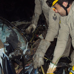 Opinião e Notícias - Acidente grave na BR-153 entre Jaraguá e Rianápolis
