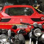 Ferrari de Thor Batista é apreendida em blitz