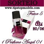 Promoções - Sorteio Perfume Angel 01 da Fator 5