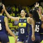 Vôlei - Brasil consegue a segunda vitória no Pré-Olímpico de Vôlei Feminino